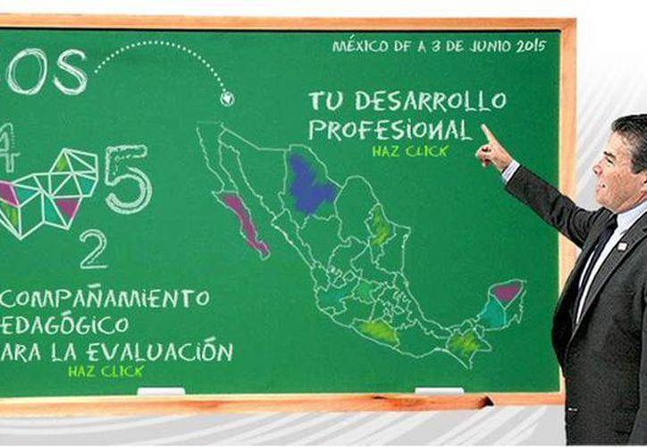 El SNTE informó que las inscripciones para los diferentes cursos están abiertas hasta el próximo 28 de junio. (Captura de pantalla de sinadep.org.mx)