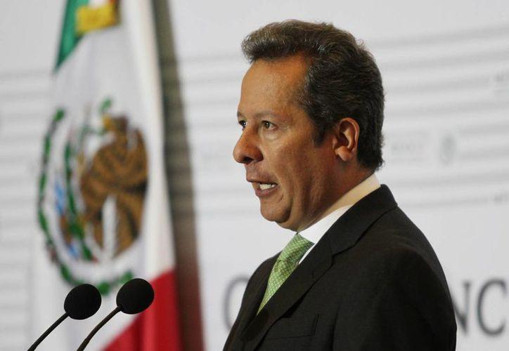 Eduardo Sánchez, vocero de Presidencia, dijo que el nuevo aeropuerto es la obra principal del Plan Nacional de Infraestructura. (Notimex)