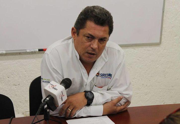 Wilberth Esquivel Zanoguera dijo que los contribuyentes están obligados al pago de la recolección de residuos. (Jesús Tijerina/SIPSE)
