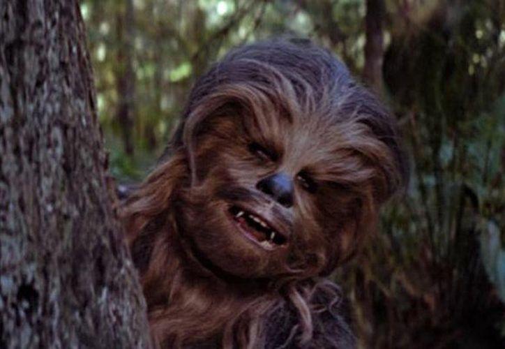 Los fans del universo expandido no han tardado en señalar que se trata de Chewbacca y Malla, la mujer del famoso wookiee. (Foto: Contexto/Internet)