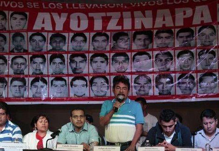 Felipe de la Cruz, vocero de los padres de los normalistas, dijo que esta semana definirán los cuarteles que visitarán. (Foto de archivo/Cuartoscuro)