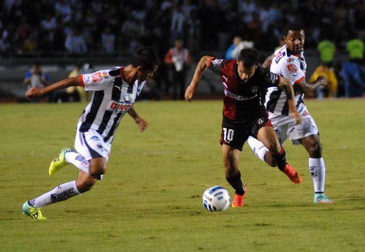 Al Atlas le bastará empatar en fin de semana para avanzar a semifinales de la liguilla mexicana luego de haber sacado la victoria en casa del Monterrey esta noche. (Notimex)