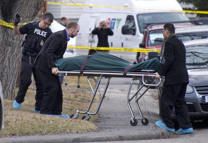 Las autoridades calificaron el asesinato múltiple como el peor en la historia de Calgary. (AP)