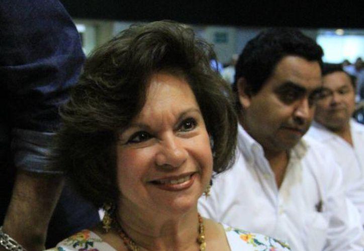 La alcaldesa de Tizimín, María Díaz Góngora, tiene que ingeniárselas para pagar a 400 policías. (SIPSE)