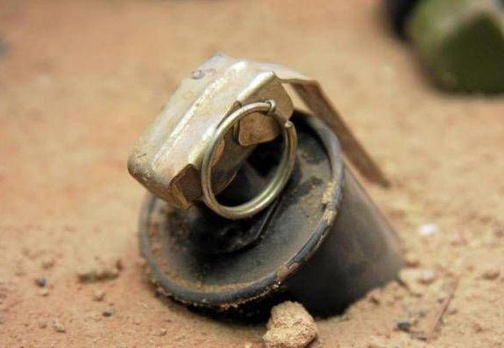 Las partes para granadas explosivas fueron llevadas a México por el contrabandista Jean Baptiste Kingery.   (Archivo/SIPSE)