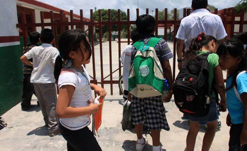 """Tres alumnos de la escuela """"27 de septiembre"""" presentaron casos de hepatitis. (Archivo/SIPSE)"""