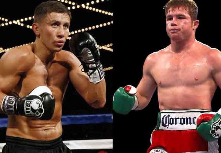 Lo boxeadores se enfrentarán el 16 de septiembre en la T-Mobile Arena de Las Vegas. (Foto: Redacción)