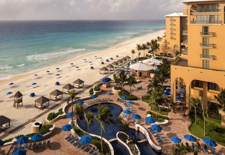 El Ritz Carlton Cancún recibió el galardón  Hotel Hidro Sustentable por sus prácticas de ahorro de agua. (Contexto/Internet)