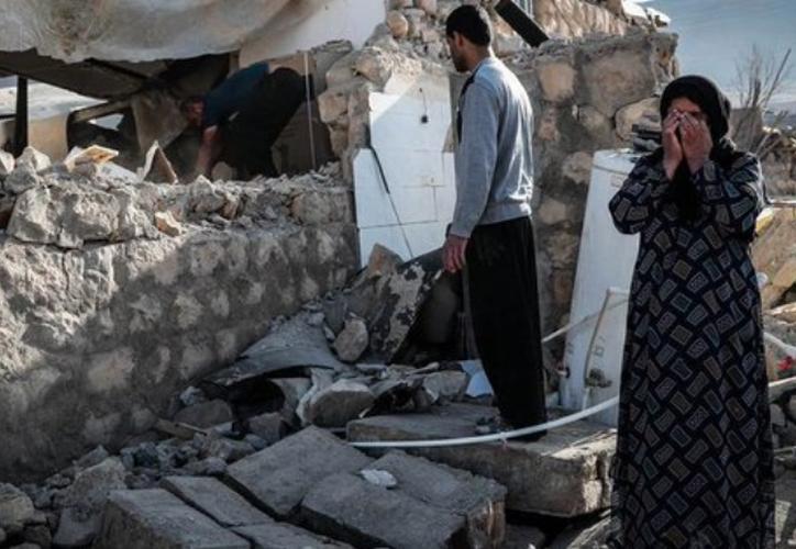 El sismo causó daños en construcciones en las ciudades de Sarpol-e Zahaband y Eslamabad-e Gharb. (Notimex)