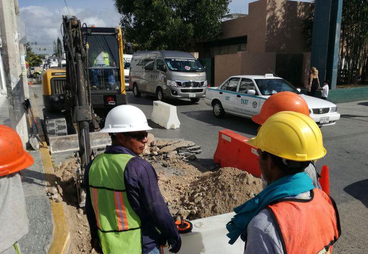Los trabajos que se están realizando iniciaron desde finales del pasado mes de abril. (Daniel Pacheco/ SIPSE)