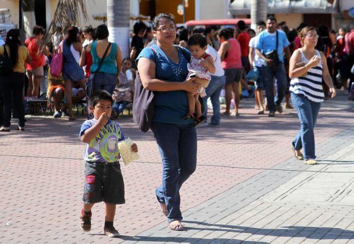 Este domingo 7 de junio, día de los comicios, los meridanos tendrán una jornada calurosa con lluvias por la tarde. La imagen corresponde al centro de la ciudad. (César González/SIPSE)