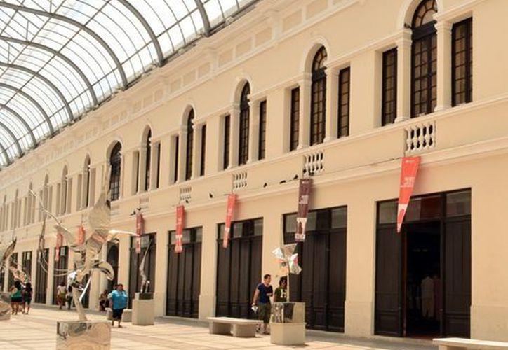 La entrada al Museo Ateneo de Arte Contemporáneo Ateneo de Yucatán es gratuita. (SIPSE)