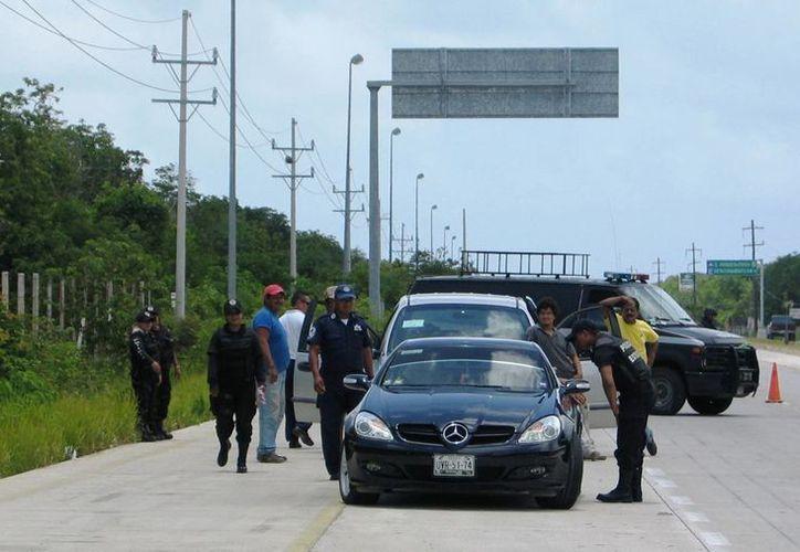 Después de haberse denunciado el robo se implementó un operativo para detener a los ladrones, pero no hubo resultados positivos.  (Rossy López/SIPSE)