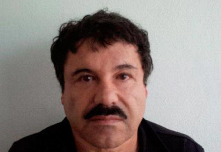 Imagen de archivo de Joaquín 'El Chapo' Guzmán Loera, quien fue detenido en México el año pasado. Ahora su hijo, Archivaldo Guzmán Salazar enfrentará cargo en Estados Unidos. (NTX)