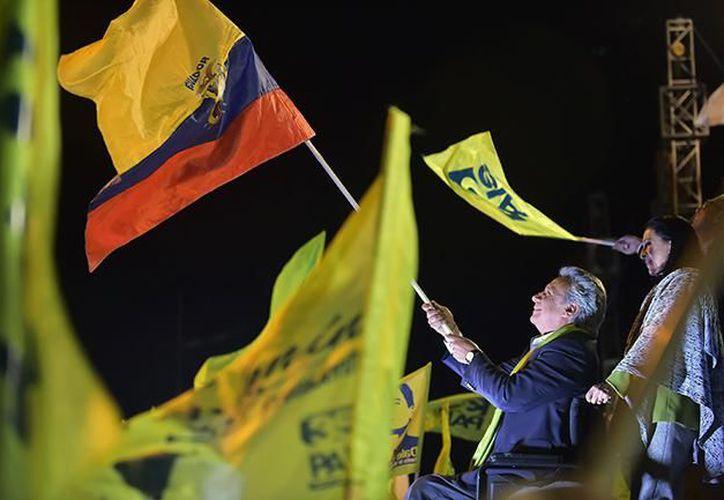 Lenín tiene alrededor del 97% de los votos escrutados. (Foto: Internet)