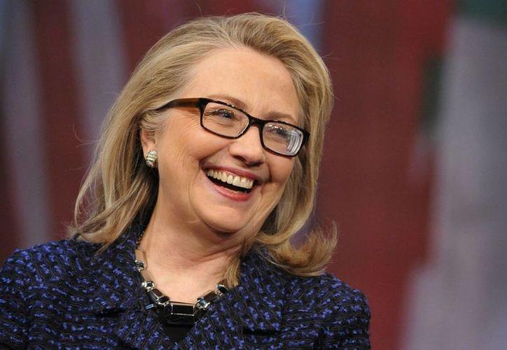 Clinton ha dicho que 'no tiene prisa' por competir por la Presidencia. (Archivo/Agencias)