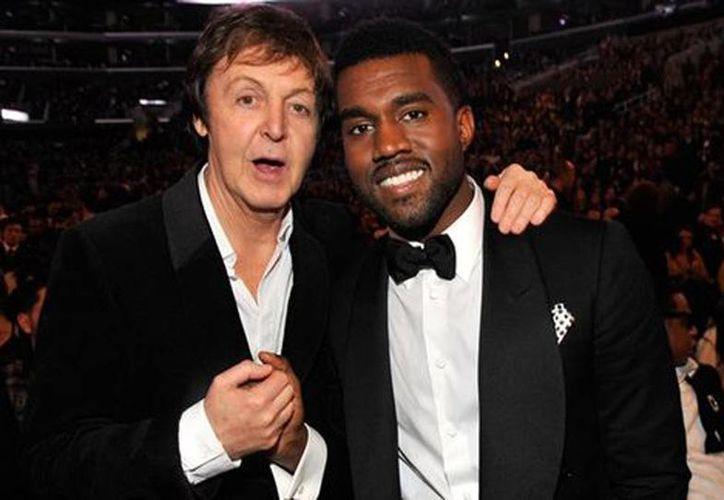 Paul McCartney y Kanye West grabaron la suave balada Only One, dedicada a la hija del cantante afroamericano y Kim Kardashian llamada North. (Milenio)