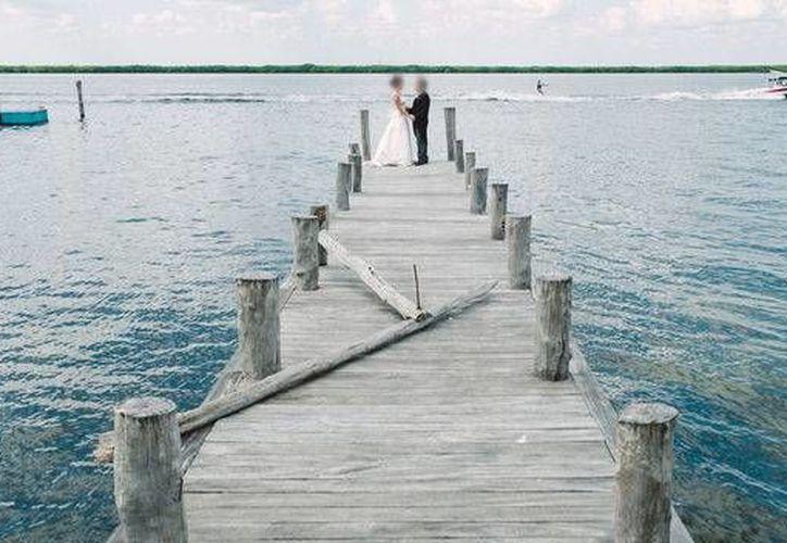 """El programa español """"Casados a primera vista"""" colocó la tarde de este lunes a Cancún entre los trending topic en dicho país. (Cortesía)"""