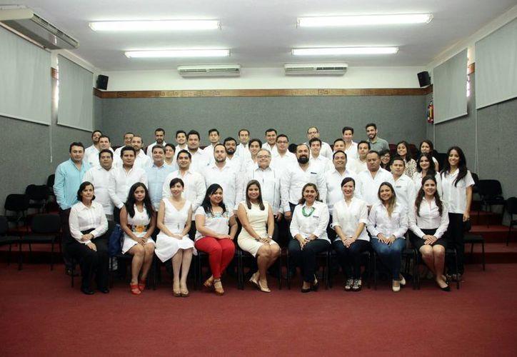 Se presentó a los emprendedores que viajarán al DF. (Jorge Acosta/SIPSE)
