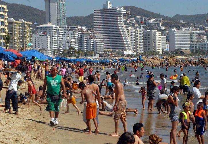 En esta temporada vacacional la ocupación hotelera en Acapulco, es del 75 por ciento hasta hoy. (Notimex)