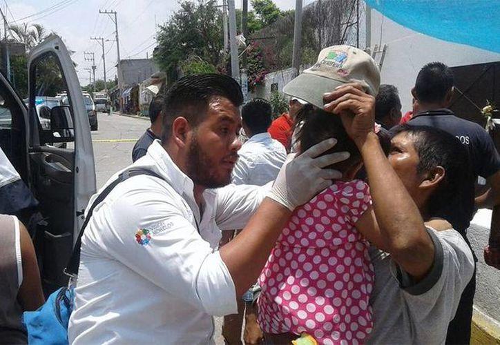 El incidente ocurrió durante los festejos a Santiago Apóstol en Xochitepec, Morelos. (Excélsior)