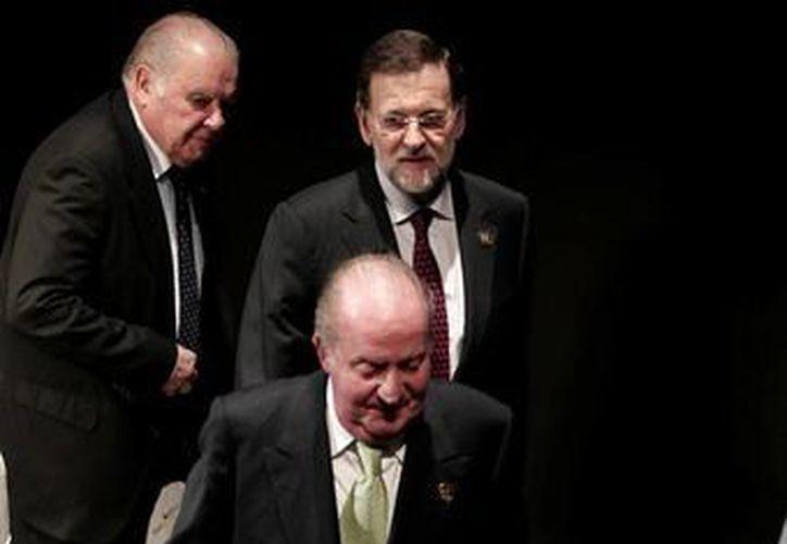 El rey de españa Juan Carlos de Borbón. (Agencias)