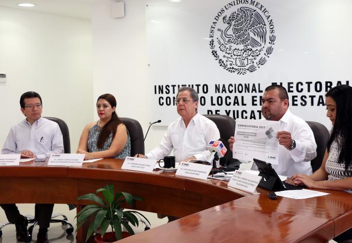 El calendario electoral indica que originalmente la instalación de los 106 consejos se haría del 6 a 15 de noviembre. (SIPSE)