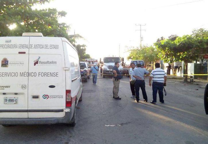 Testigos afirman que el incendio se trató de una supuesta 'venganza'.  (Miguel Maldonado/ SIPSE)