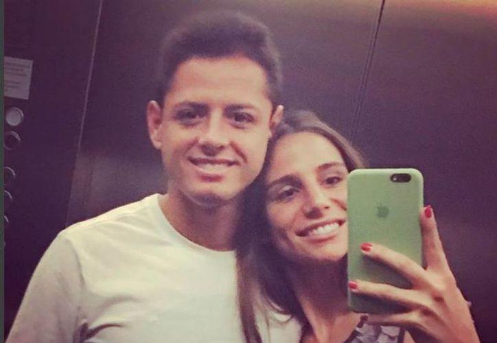 Javier 'Chicharito' Hernández se casará con Lucía Villalón, una periodista española. (Foto: Instagram/Lucia_Villalon)