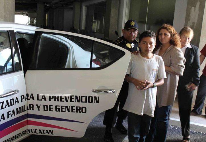 Antonio Pech Viana, de Chetumal, dijo que llegó a Mérida porque se equivocó de autobús; intentaba viajar a la capital quintanarroense. (Cortesía)
