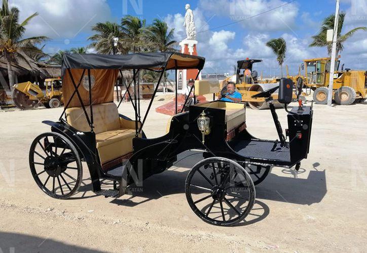 La ruta de paseo será el Malecón y algunas zonas del puerto de Progreso.(Gerardo Keb de Novedades Yucatán)