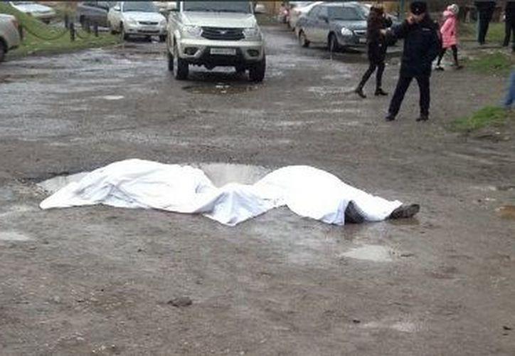 Autoridades informan que el tirador perdió la vida en el lugar. (5tv)