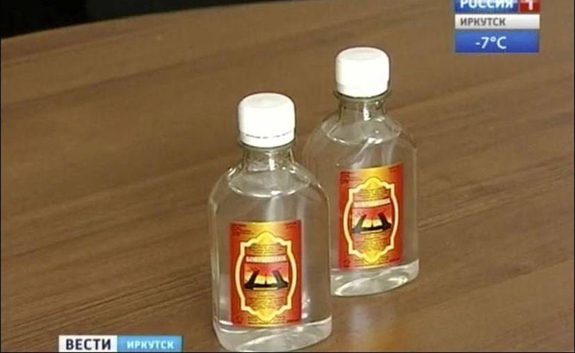 Imagen de la loción, cuya etiqueta no indicaba que contuviera metanol, y que se siguió vendiendo pese a que las primeras alarmas de muertes por intoxicación. (siberiantimes.com)