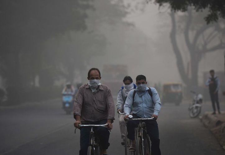 Delhi es una de las ciudades más contaminadas del mundo. (The Huffington Post)