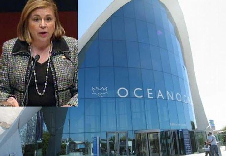 La senadora Arely Gómez dejó de presidir la comisión que investiga a Oceanografía, ya que ella dice que es pariente de  Martín Díaz Álvarez, implicado en el fraude contra Pemex. (Agencias/Archivo)