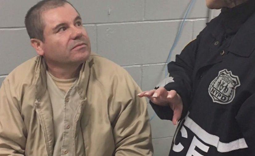 'El Chapo' fue extraditado a Nueva York para hacer frente a cargos por narcotráfico. (Vanguardia MX)