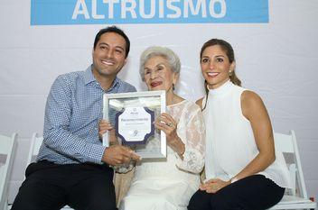 Homenaje al altruismo