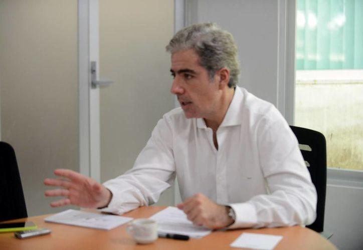 Imagen de José Lafontaine Hamui, delegado de la Profepa, quien habló sobre el operativo de vigilancia que se realizará durante las vacaciones de verano. (Milenio Novedades)