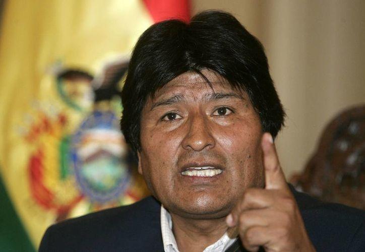 La jueza Jacqueline Rada declaró improbada la demanda del presidente boliviano Evo Morales en contra de su expareja por daños psicológicos al supuesto hijo de ambos. (EFE)