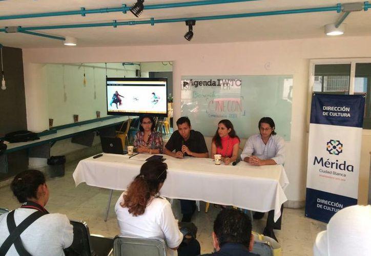 Ayer se realizó la rueda de prensa sobre el concurso de cortometraje. (Milenio Novedades)