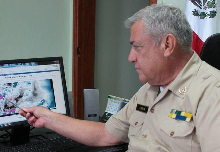 Alfonso Rodríguez Loaiza, capitán de puerto. (Gustavo Villegas/SIPSE)