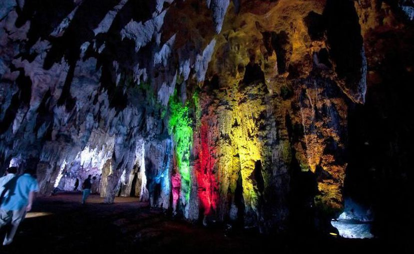 Desde las 7:00 horas del sábado 5 de octubre habrá tours a las grutas. (Archivo/Sipse)