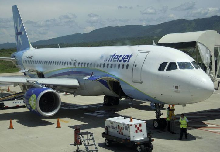 Interjet opera un 25% del mercado interno mexicano en transporte aéreo de pasajeros. (EFE)