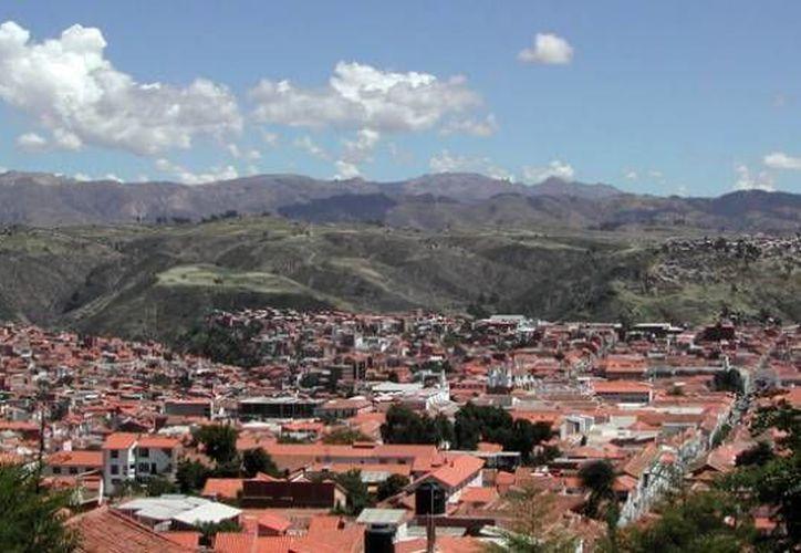 Panorámica de Chuquisaca, población cercana a donde ocurrió el fatal accidente. (Foto: www.comunicacion.gob.bo)