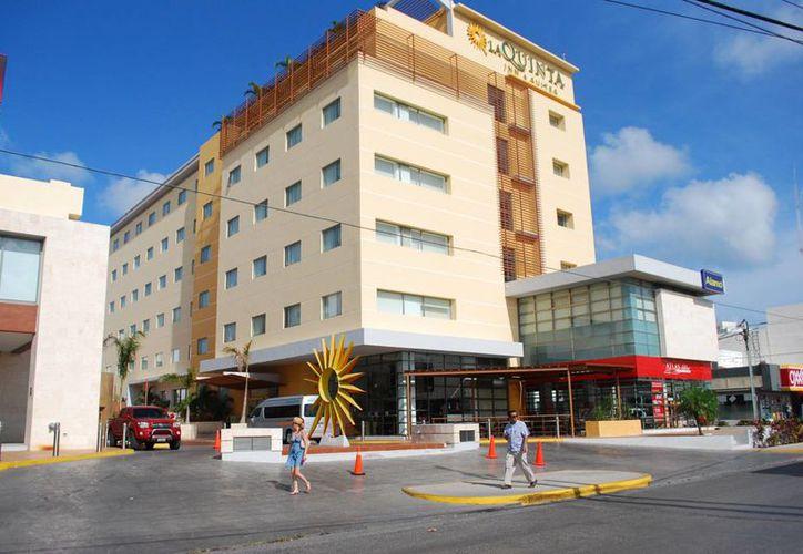Hoteles de la ciudad tendrán llenos a partir del 24 de este mes. (Israel Leal/SIPSE)