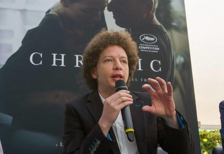 El director de cine mexicano Michel Franco se dispone a estrenar 'Chronic' en el Festival de Cannes, donde además compite por la Palma de Oro. (Notimex)