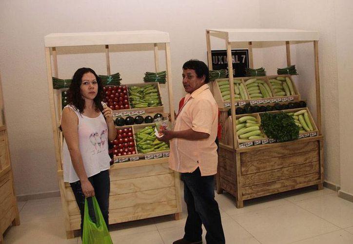 Aspecto del Congreso Internacional de Promoción del Consumo de Frutas y Verduras que hoy llega a su fin. (Jorge Acosta/SIPSE)