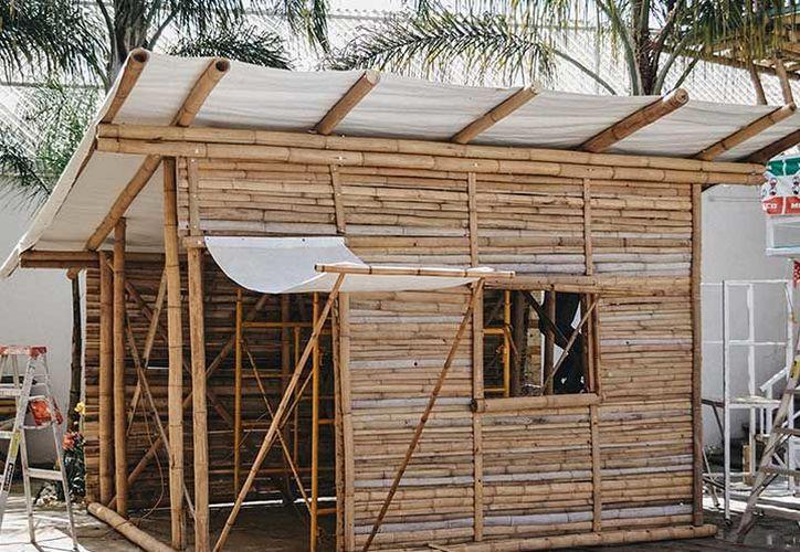 El costo por módulo oscila entre 15 y 20 mil pesos, varía por el tamaño requerido por las familias. (Foto: Notimex)