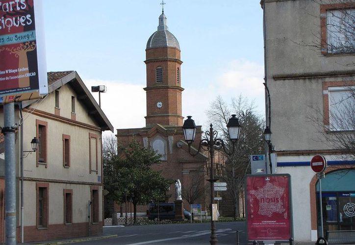 Un sujeto que planeaba realizar un atentado terrorista en Francia fue interceptado en el pequeño poblado de Cugnaux, cerca de la ciudad de Tolouse. (Agencias)