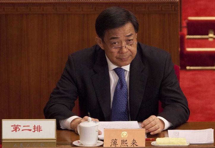 La carrera de Bo Xilai cayó dramáticamente tras revelarse las prácticas en que estaba involucrado. (EFE)